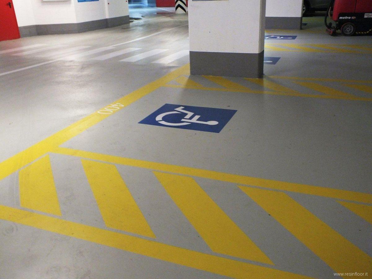 Pavimenti in resina per parcheggi garage o autorimesse resin